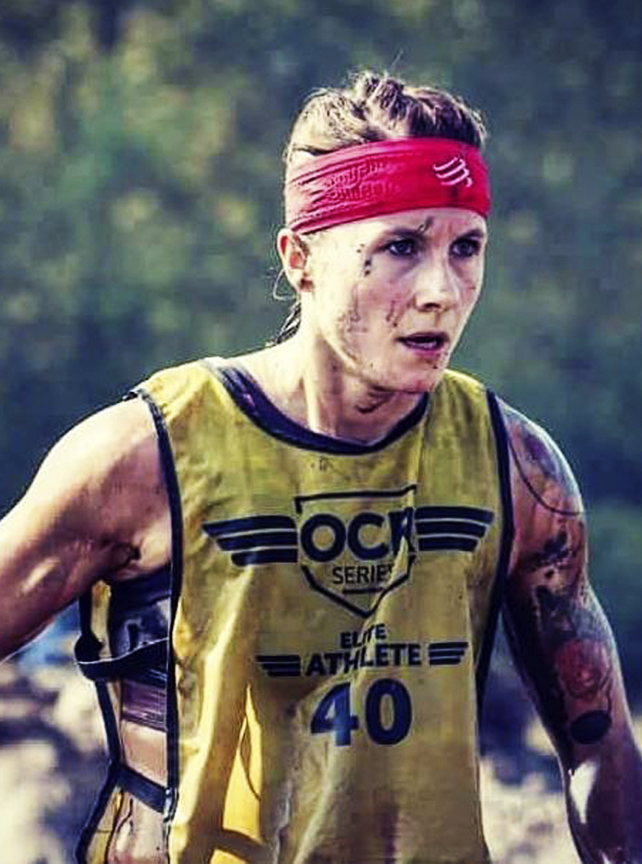 OCR Series Joanna Zukowska-Kasprzyk Athlete obstacle course racing strong viking mud run