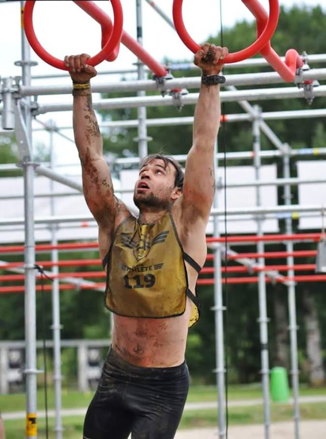 OCR Series Marco Anelli Athlete obstacle course racing strong viking mud run